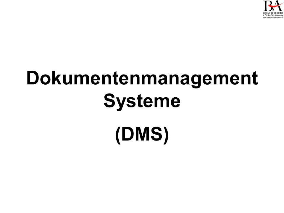 Dokumentenmanagement Systeme