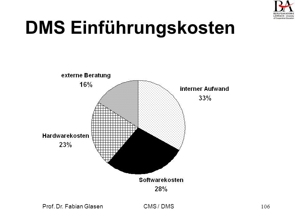 DMS Einführungskosten