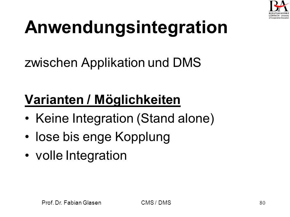 Anwendungsintegration