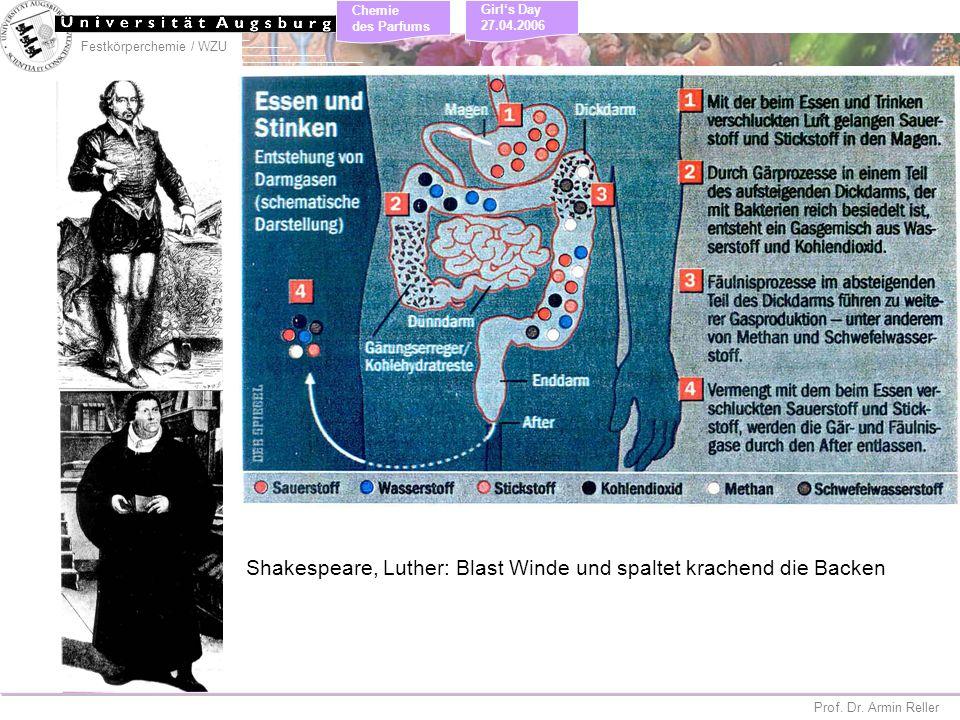 Shakespeare, Luther: Blast Winde und spaltet krachend die Backen