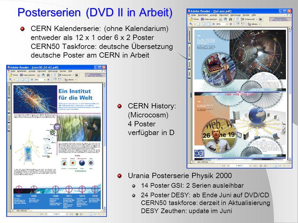 Posterserien (DVD II in Arbeit)