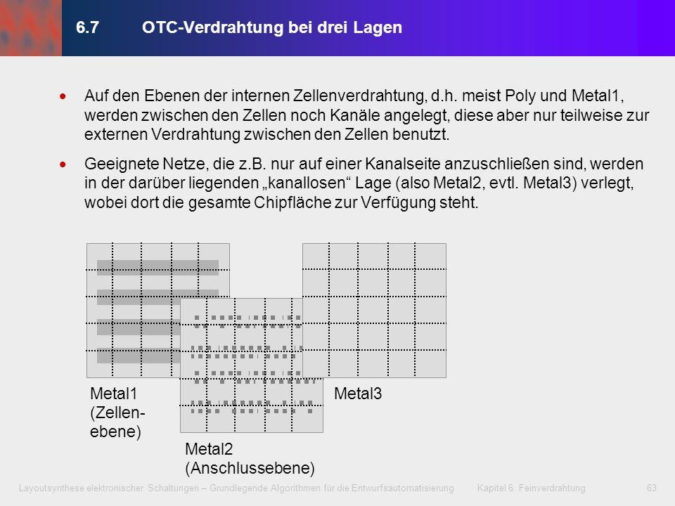 6.7 OTC-Verdrahtung bei drei Lagen