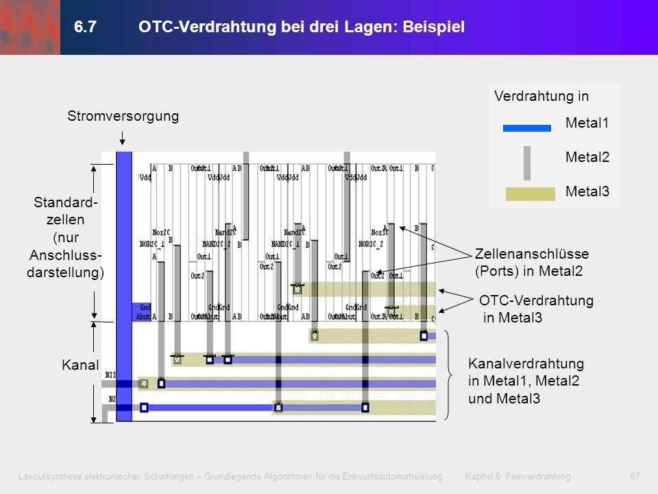 6.7 OTC-Verdrahtung bei drei Lagen: Beispiel