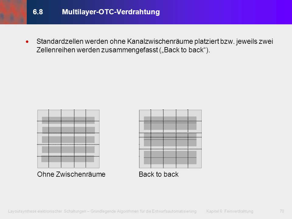 6.8 Multilayer-OTC-Verdrahtung