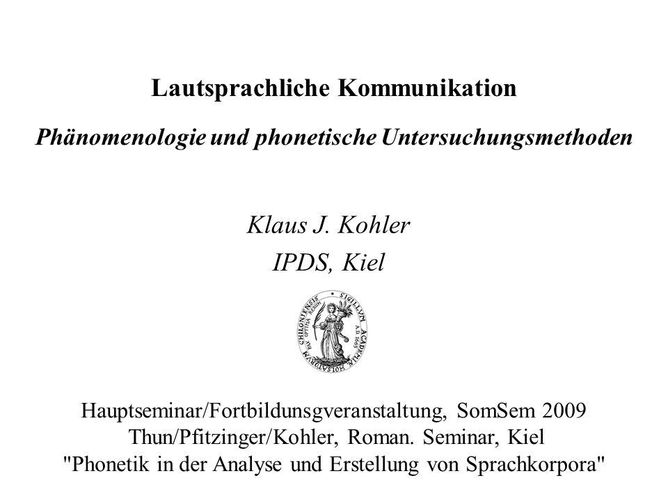 Klaus J. Kohler IPDS, Kiel