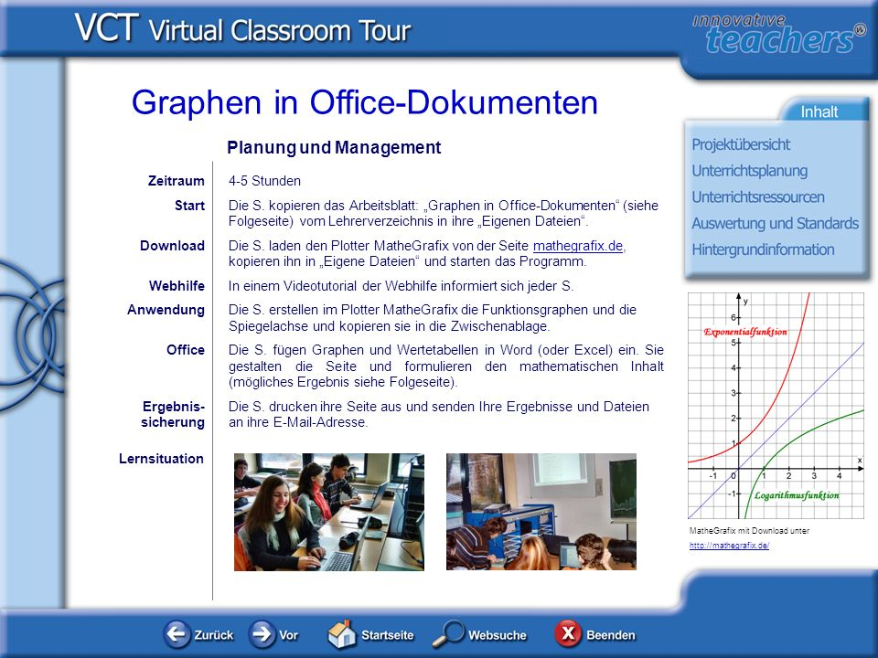 Graphen in Office-Dokumenten