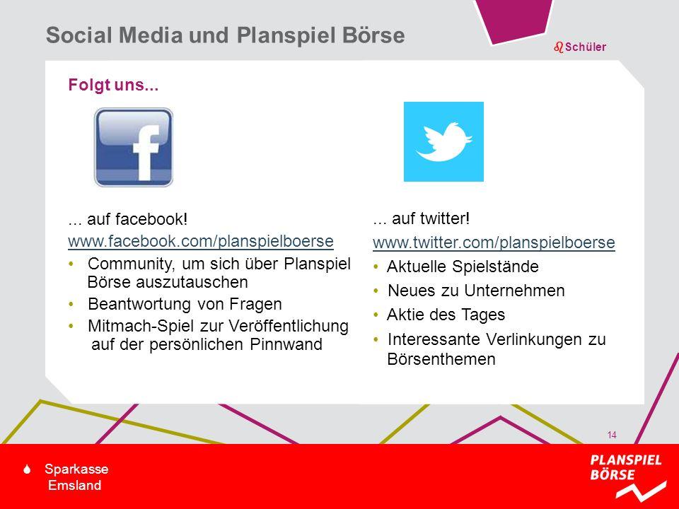 Social Media und Planspiel Börse