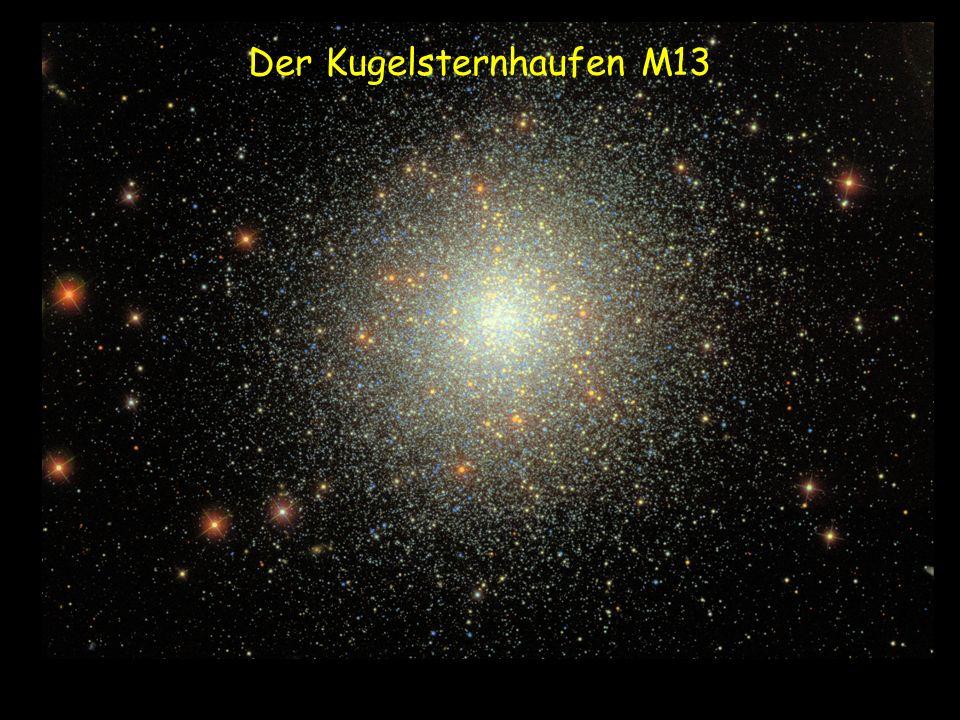 Der Kugelsternhaufen M13