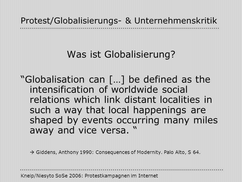 Protest/Globalisierungs- & Unternehmenskritik