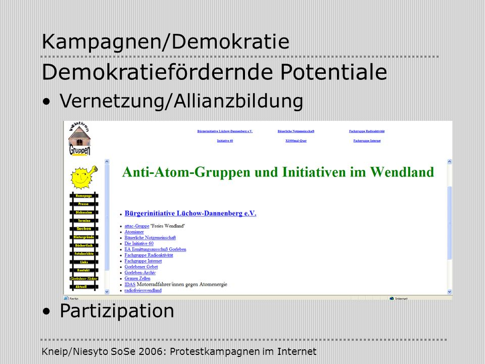 Kampagnen/Demokratie