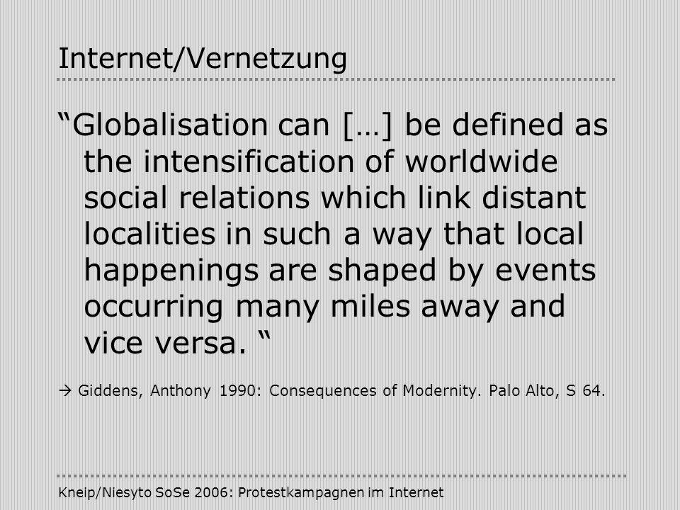 Internet/Vernetzung