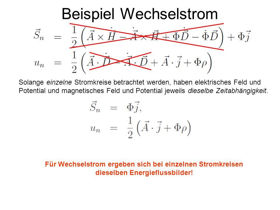 Beispiel Wechselstrom