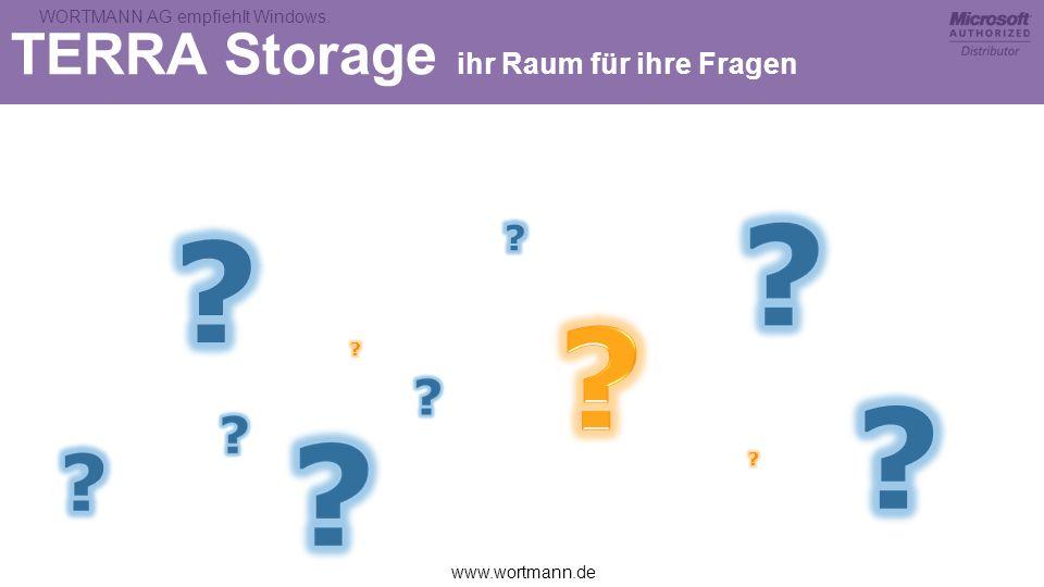 TERRA Storage ihr Raum für ihre Fragen