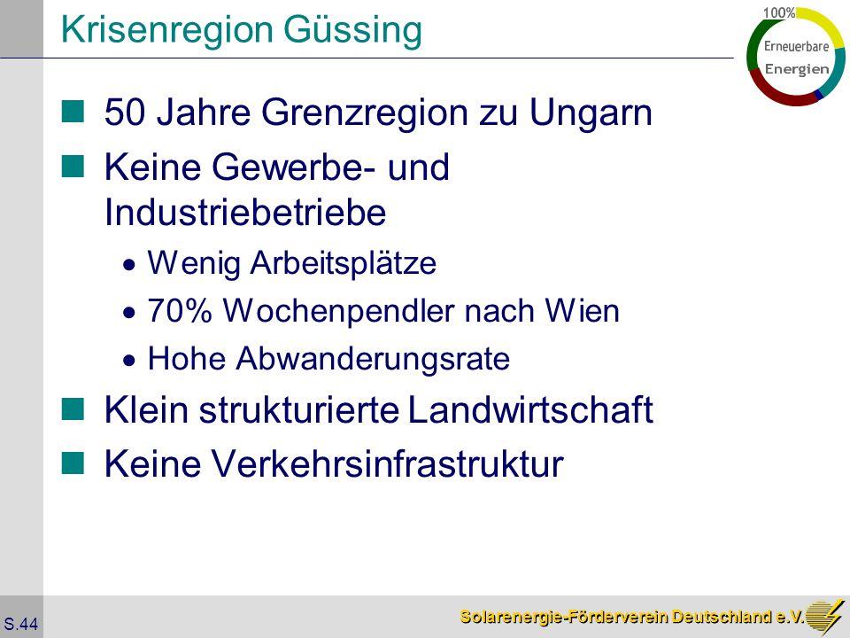 50 Jahre Grenzregion zu Ungarn Keine Gewerbe- und Industriebetriebe