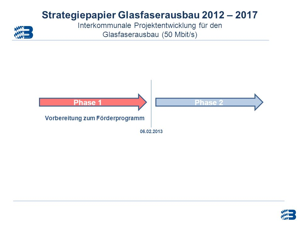 Strategiepapier Glasfaserausbau 2012 – 2017
