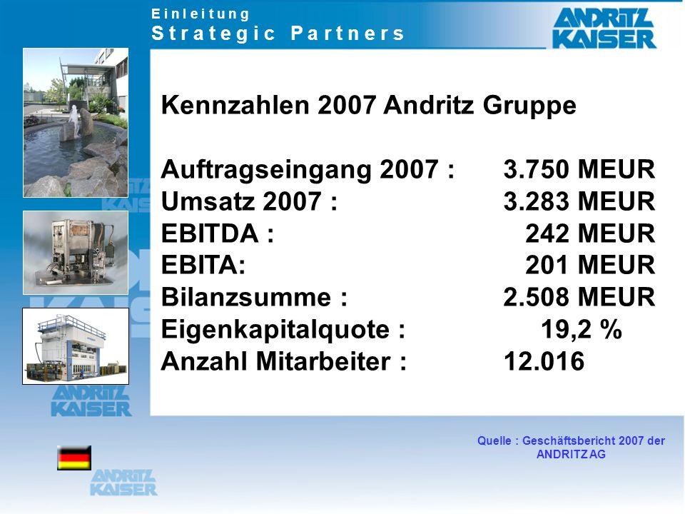 Quelle : Geschäftsbericht 2007 der