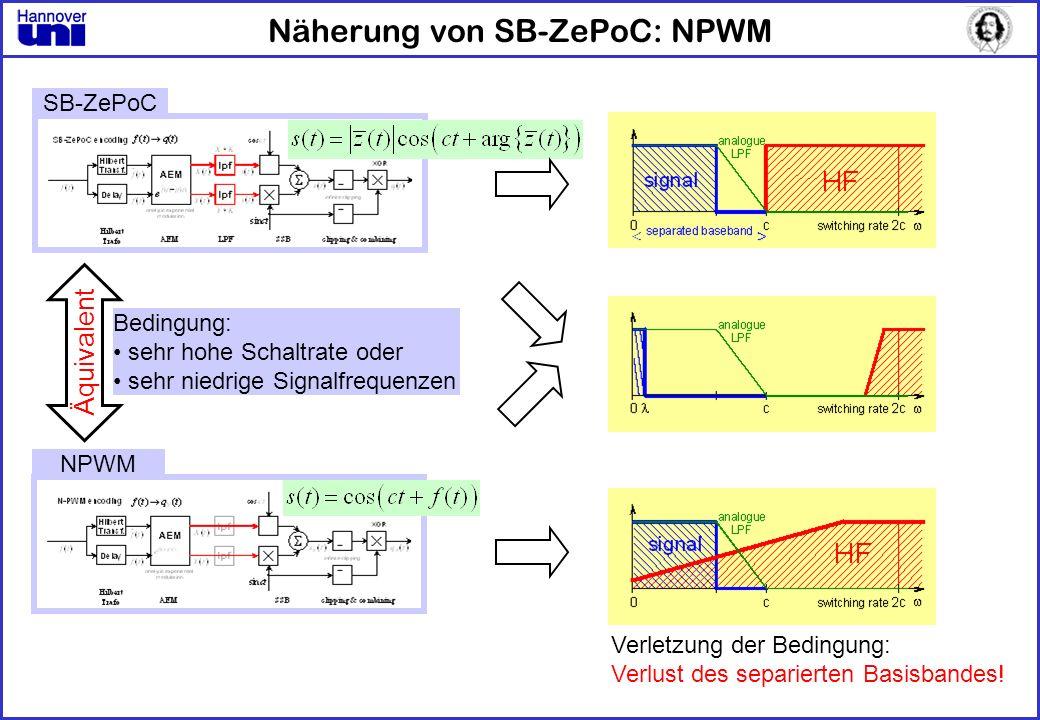 Näherung von SB-ZePoC: NPWM