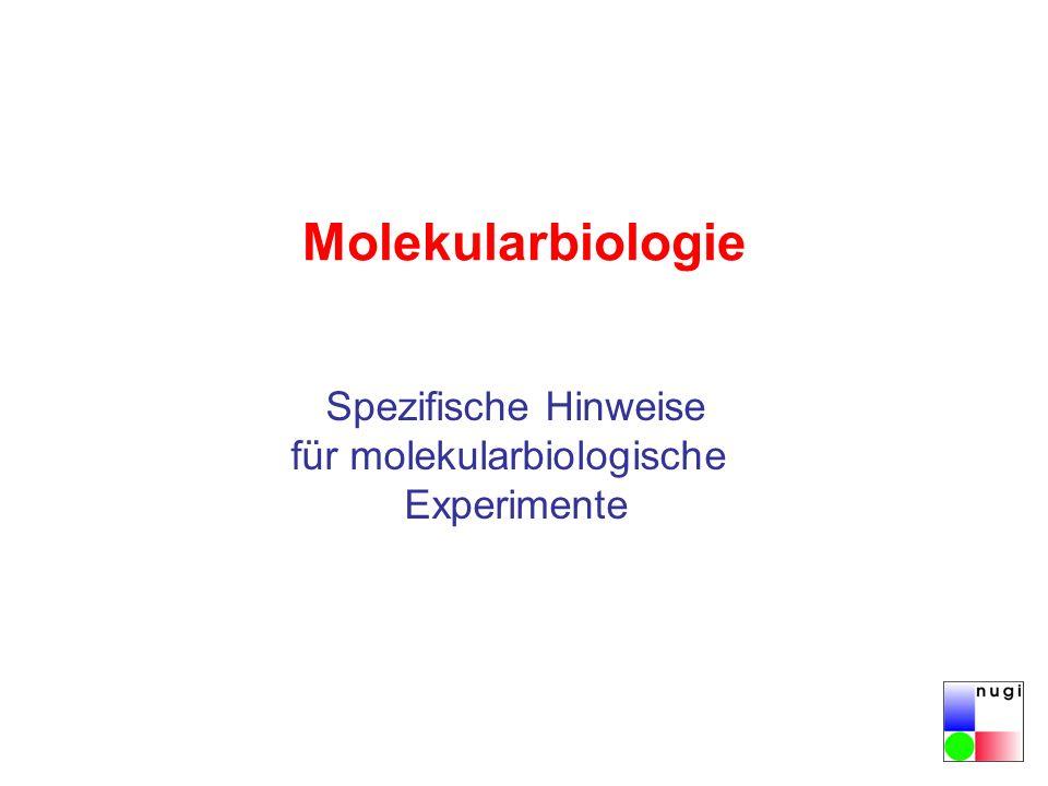 für molekularbiologische
