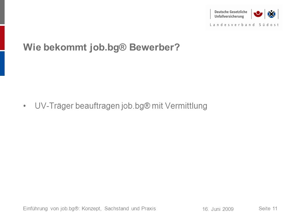Wie bekommt job.bg® Bewerber