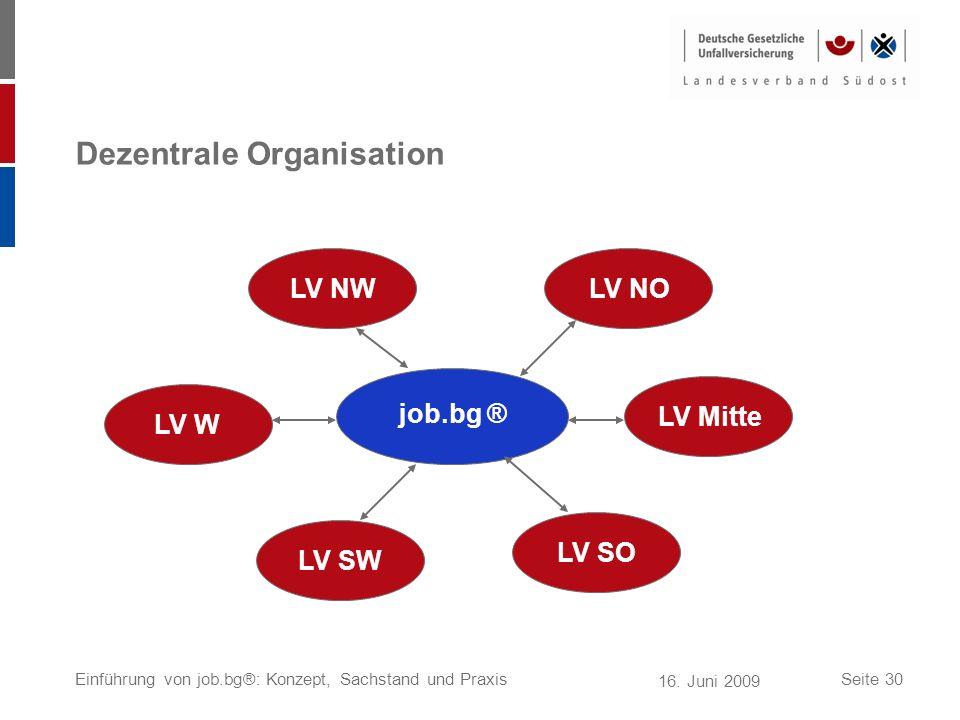 Dezentrale Organisation