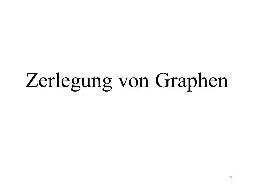 Zerlegung von Graphen
