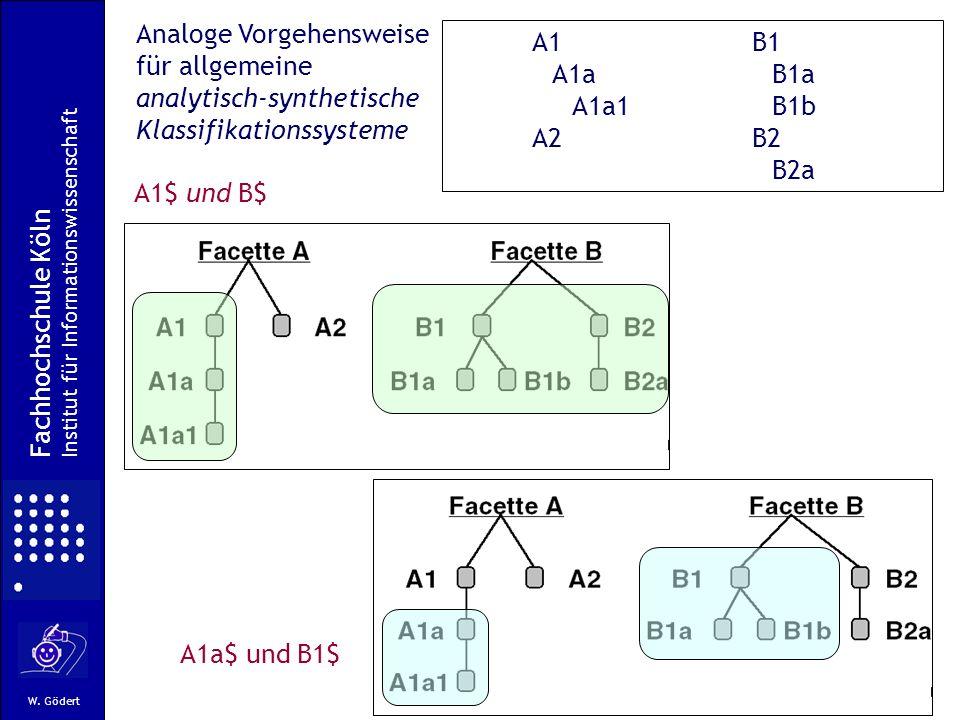 Analoge Vorgehensweise für allgemeine analytisch-synthetische