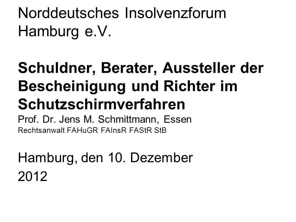 Norddeutsches Insolvenzforum Hamburg e. V