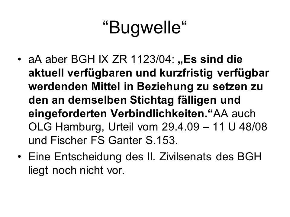 Bugwelle