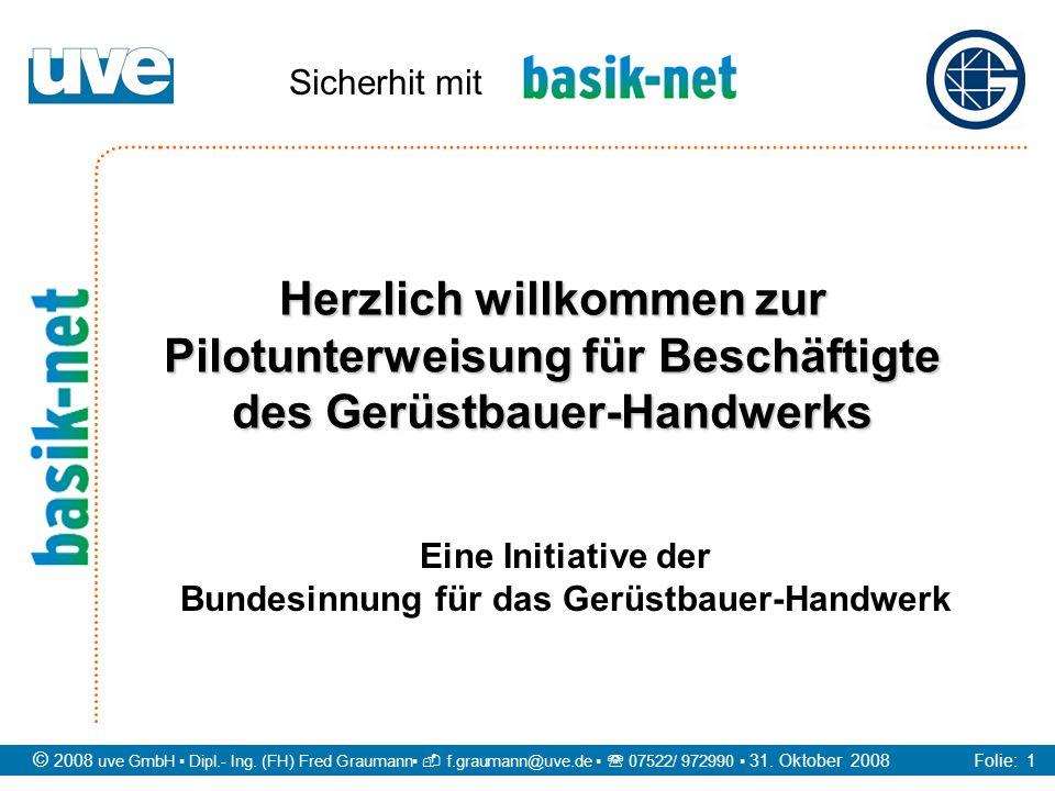 Eine Initiative der Bundesinnung für das Gerüstbauer-Handwerk