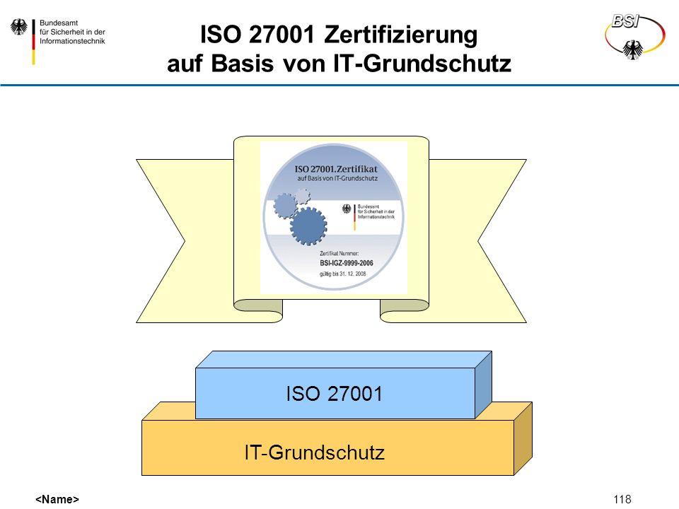 ISO 27001 Zertifizierung auf Basis von IT-Grundschutz