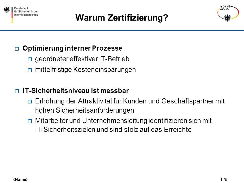 Warum Zertifizierung Optimierung interner Prozesse