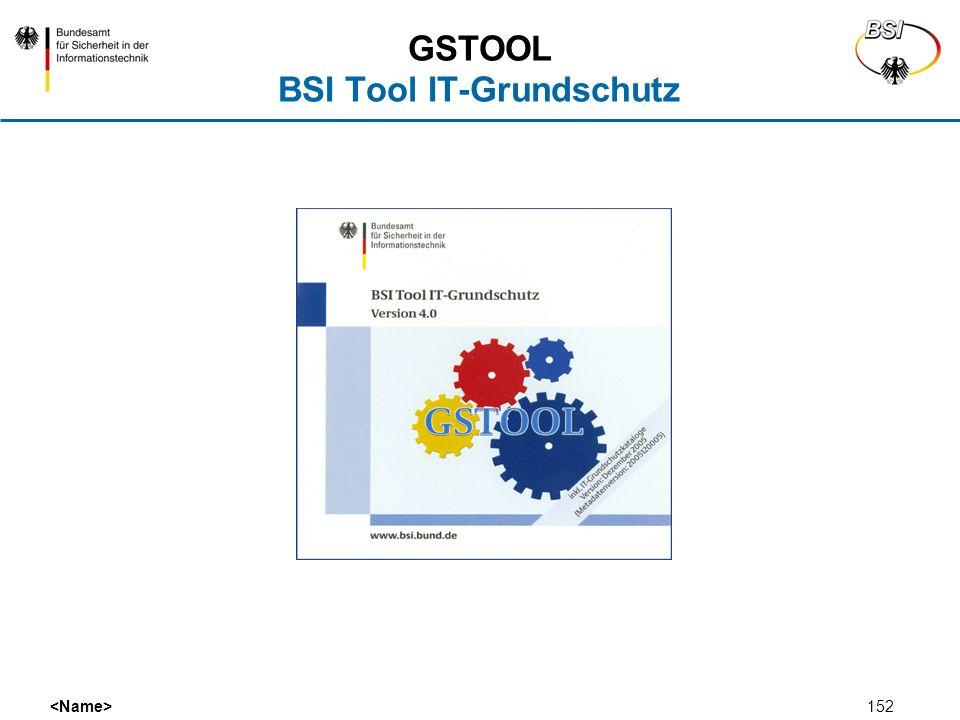 GSTOOL BSI Tool IT-Grundschutz