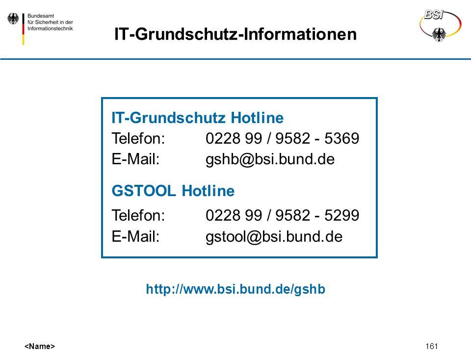 IT-Grundschutz-Informationen
