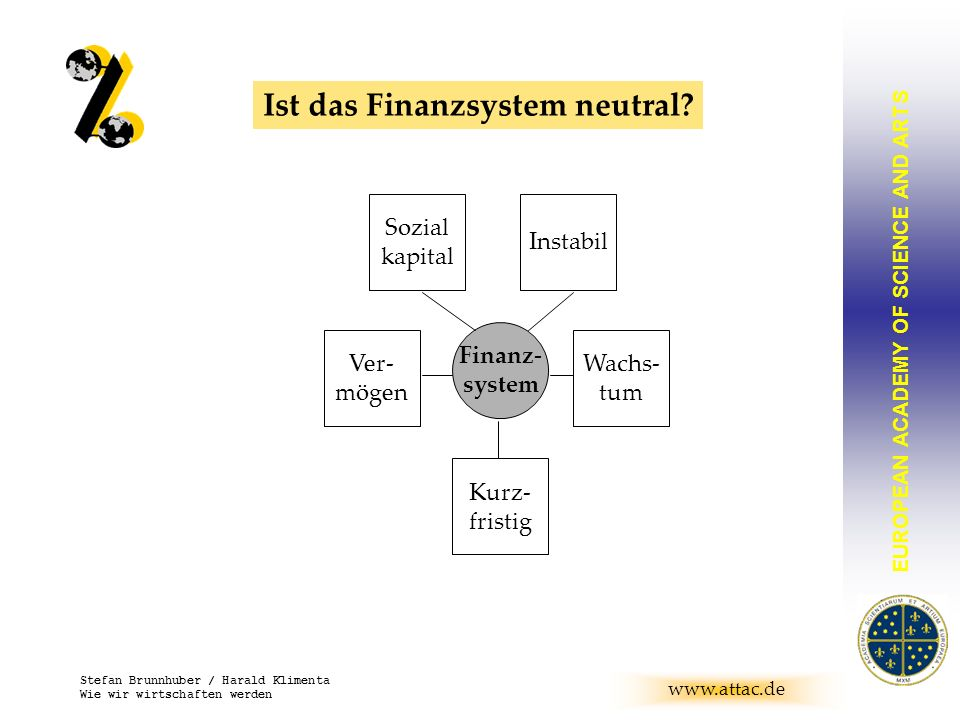 Ist das Finanzsystem neutral