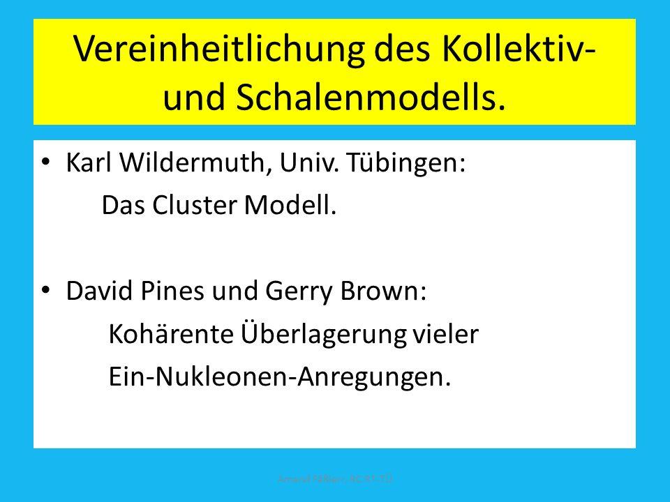Vereinheitlichung des Kollektiv- und Schalenmodells.