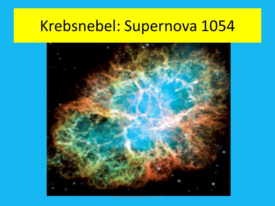 Krebsnebel: Supernova 1054