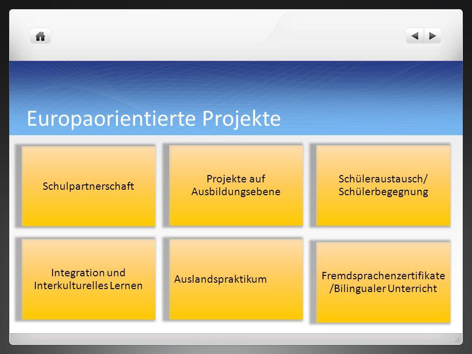 Europaorientierte Projekte