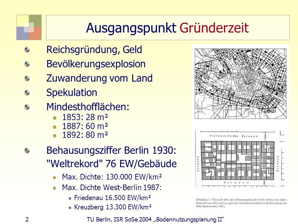 Ausgangspunkt Gründerzeit