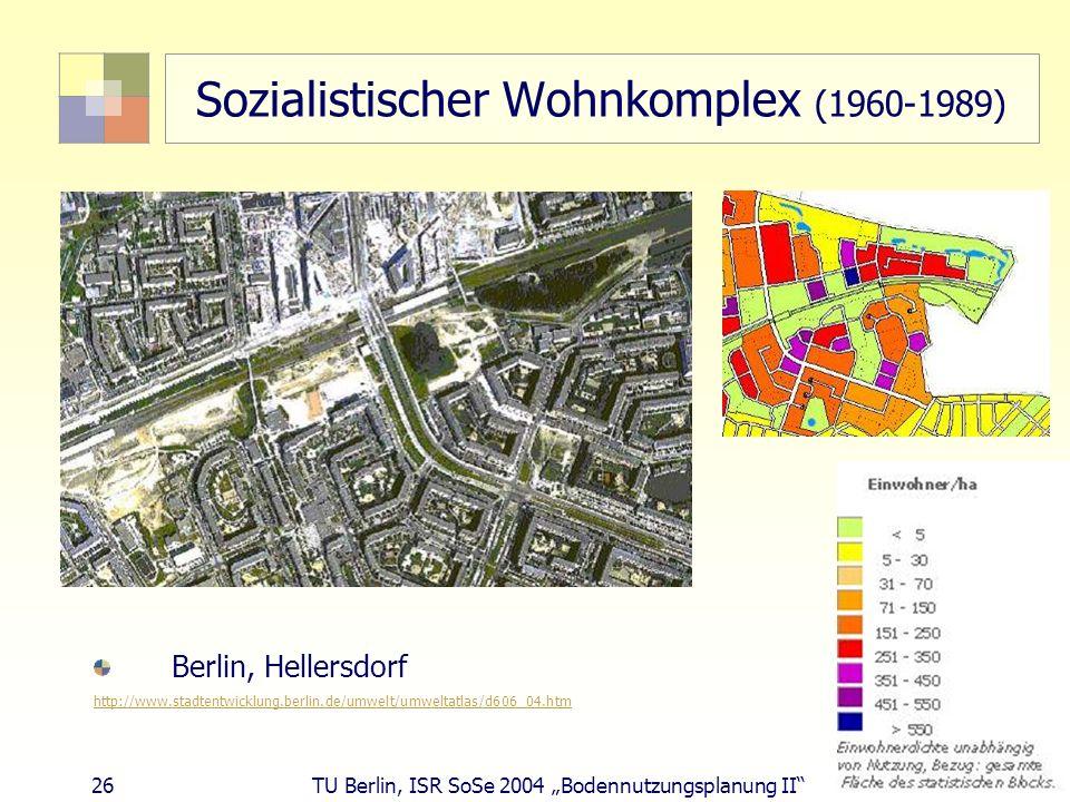 Sozialistischer Wohnkomplex (1960-1989)