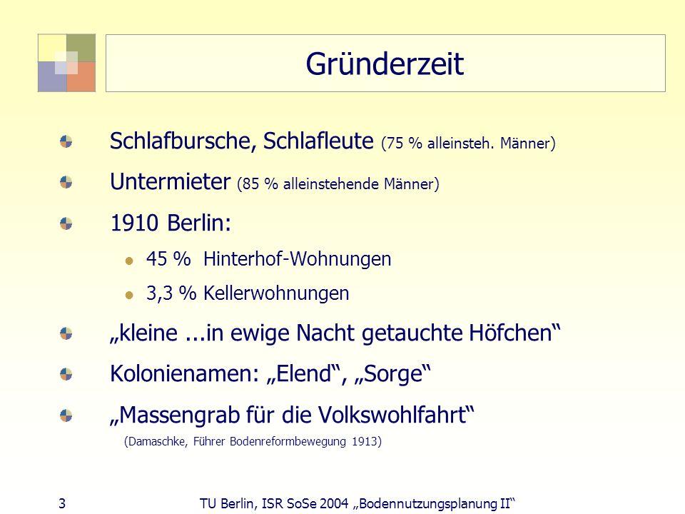 Gründerzeit Schlafbursche, Schlafleute (75 % alleinsteh. Männer)