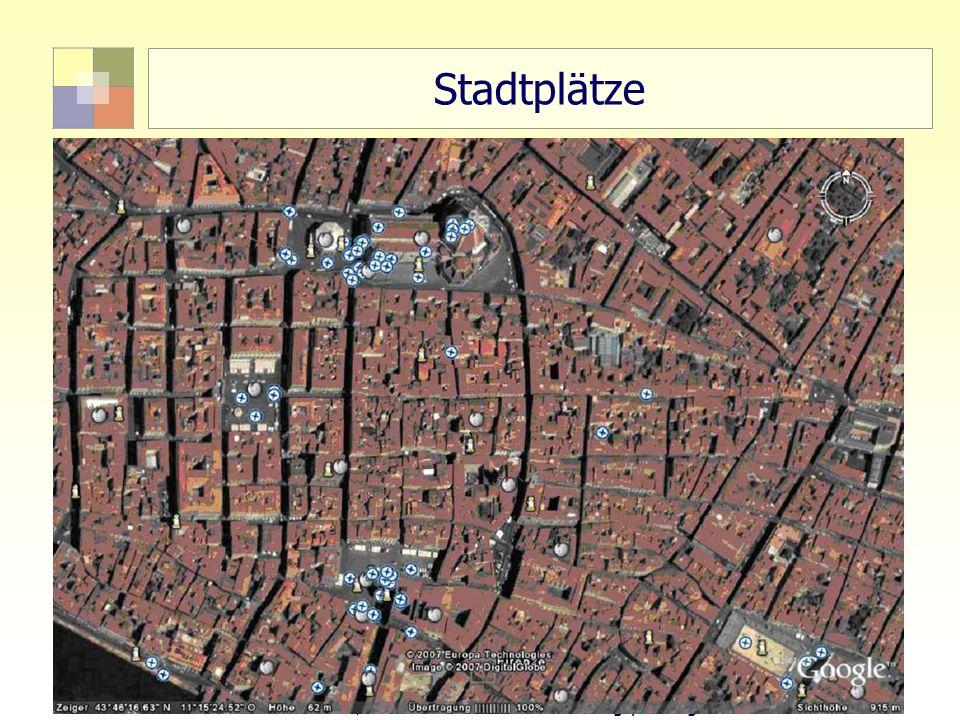 "Stadtplätze 55 TU Berlin, ISR SoSe 2004 ""Bodennutzungsplanung II"