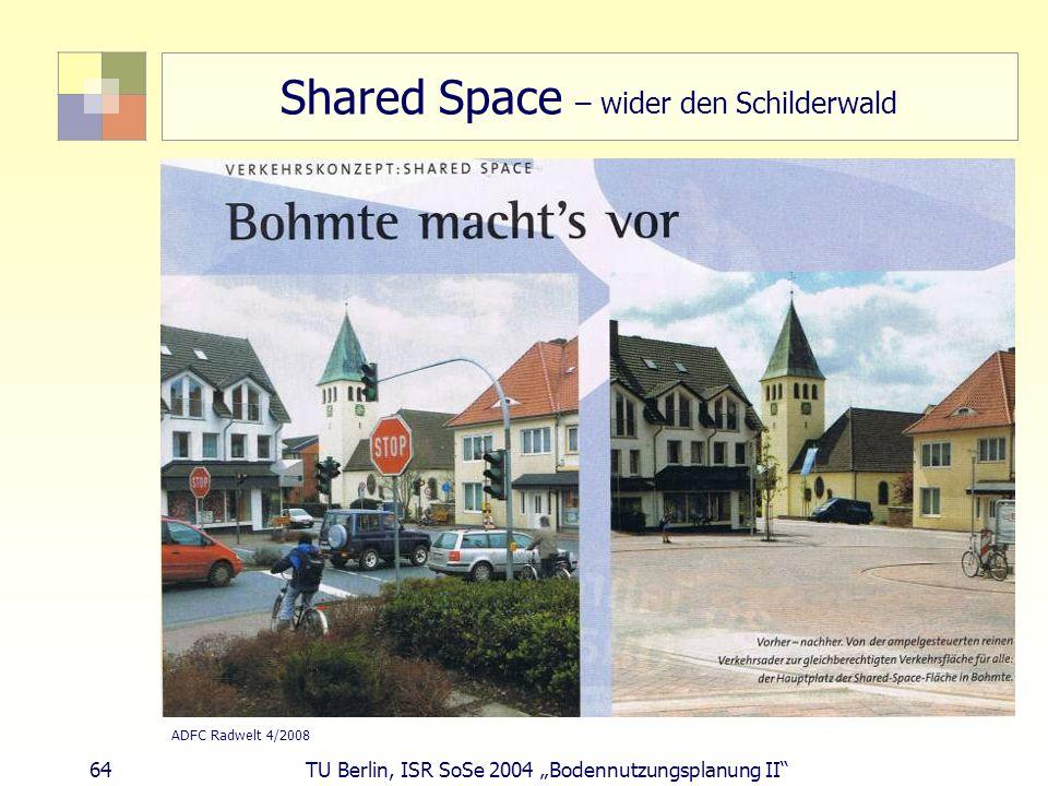Shared Space – wider den Schilderwald