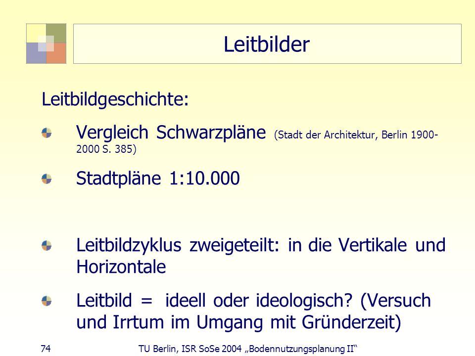 Leitbilder Leitbildgeschichte: