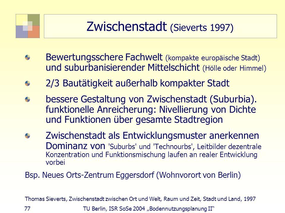 Zwischenstadt (Sieverts 1997)