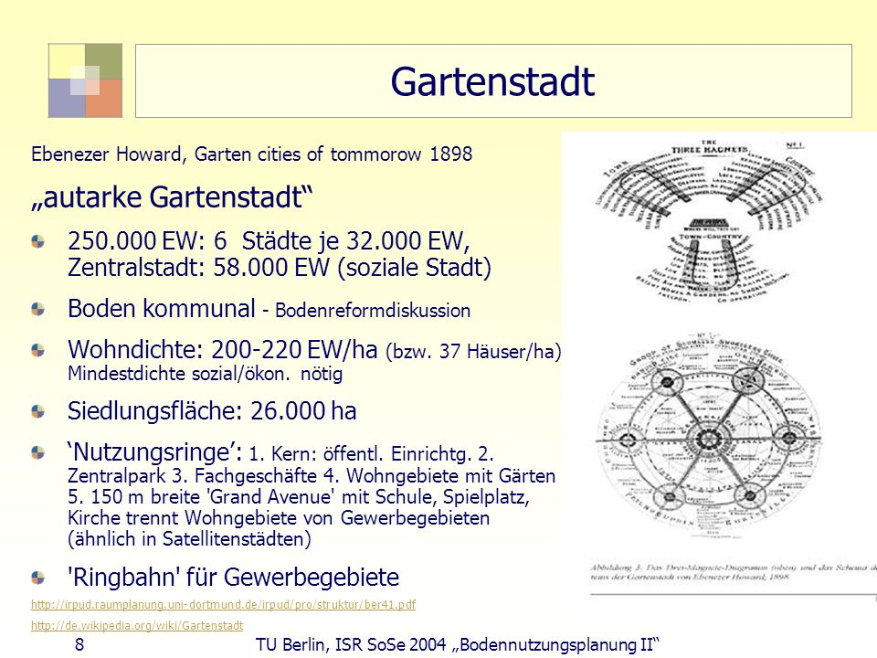"""Gartenstadt """"autarke Gartenstadt"""