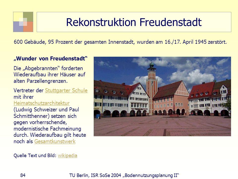 Rekonstruktion Freudenstadt