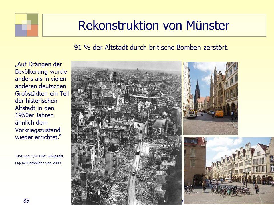 Rekonstruktion von Münster