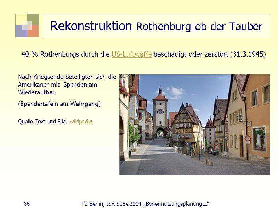 Rekonstruktion Rothenburg ob der Tauber