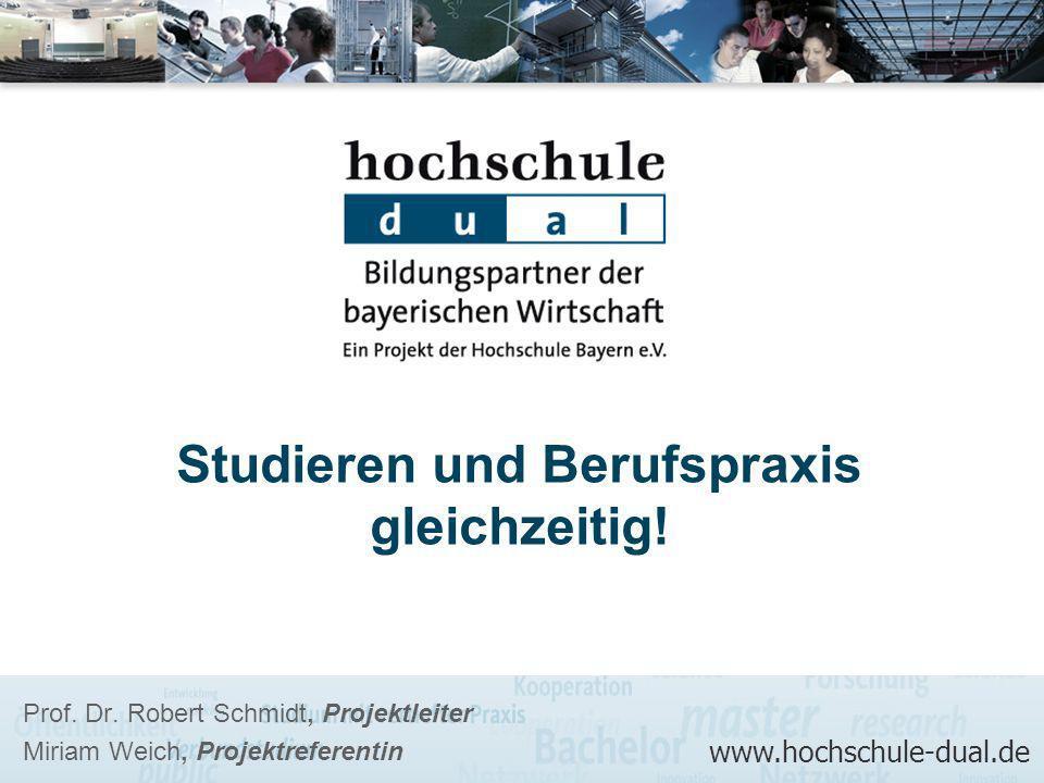 Studieren und Berufspraxis gleichzeitig!