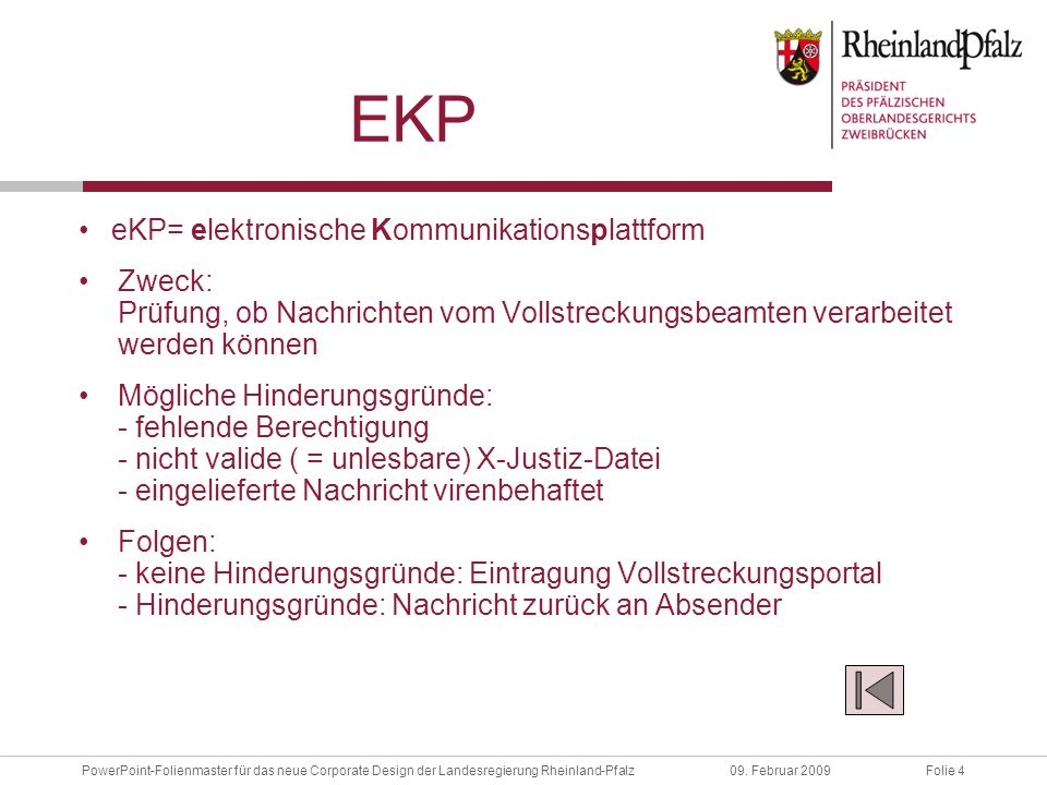 eKP eKP= elektronische Kommunikationsplattform